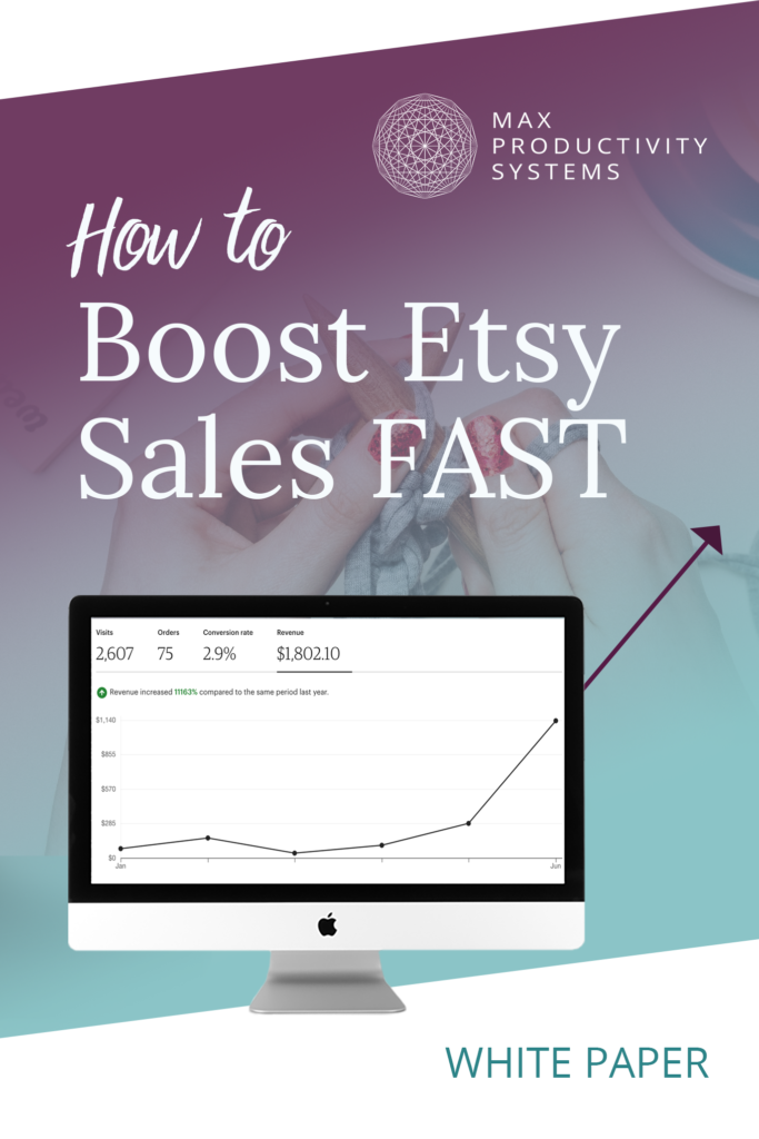 cover how to boost Etsy sales fast